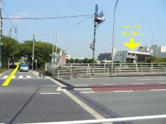 Photograph of ring 3 Kashio River Ohashi intersection