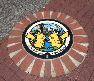 피카츄 맨홀