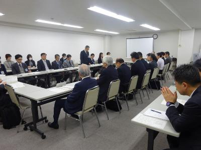 Representative secretary society of Yokohama water business meeting