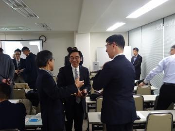 Networking of Yokohama water business meeting