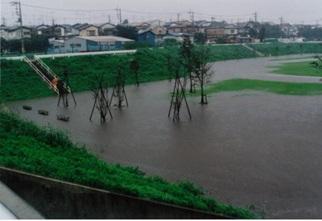 和泉快樂水地洪水時