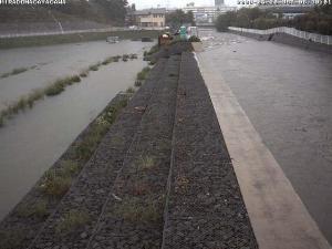 平門永谷河洪水時