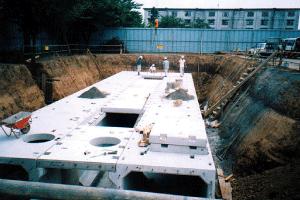 地下存水設施(上飯田小學:泉區)的圖片