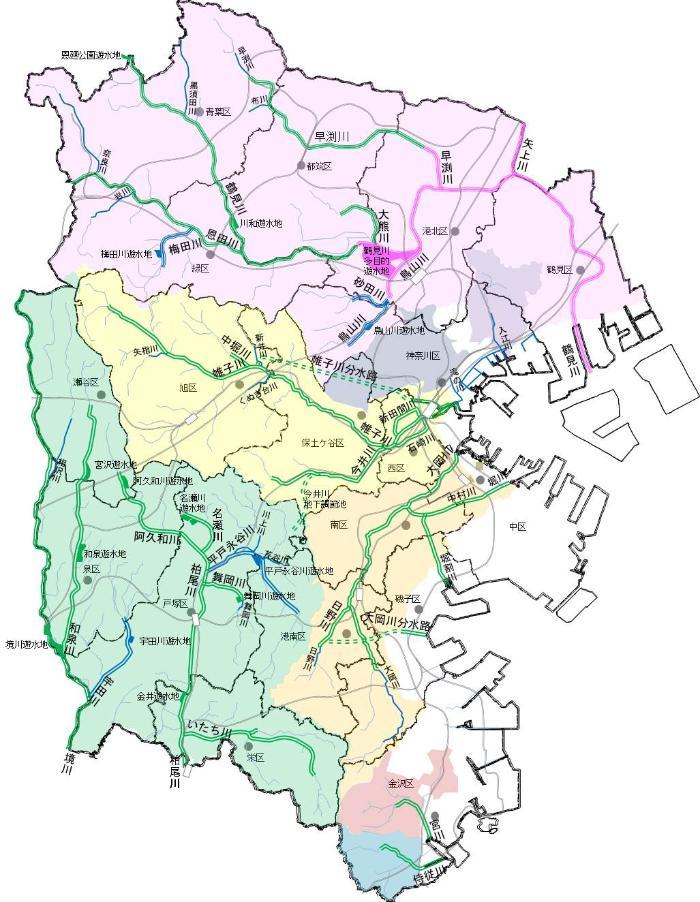 Yokohama-shi map