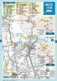 Image of Seya Ward bus map