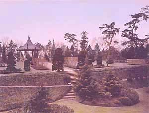 메이지 중기의 야마테코엔(공원)