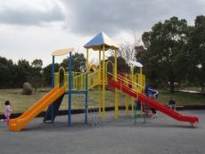Fotografia do equipamento de pátio de recreio de Parque de Nagahama