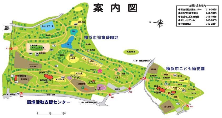 Mapa de la guía