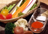 Stick salad of Yokohama vegetables