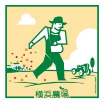 Yokohama farm basics logo mark
