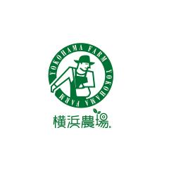 Yokohama farm round letter logo mark