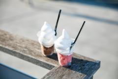 Fotografía del gelato suave