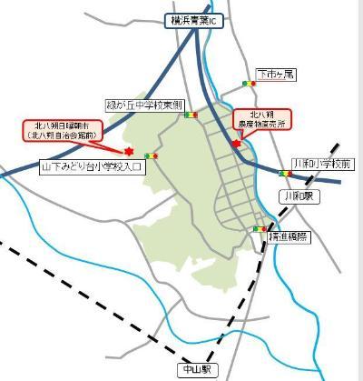 Village map of the north hassaku orange blessing