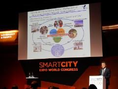 Smart city expo photograph