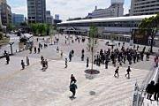 Sakuragicho-sta. open space