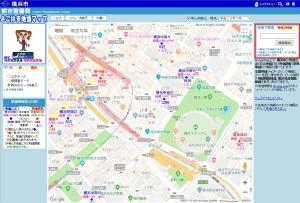 How to use Yokohama land prices map (Address search)