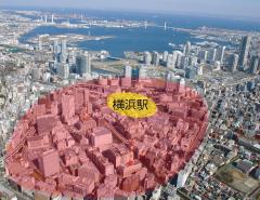 横滨站周边地区的图片