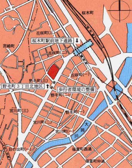 Image of around Noge district figure