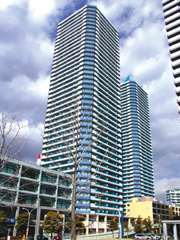 F-1街區再開發大樓外觀的照片