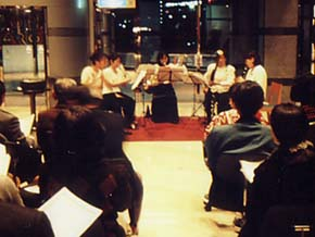Photograph of concert in 京急バス district