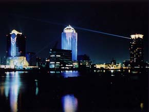 Photograph of light-up