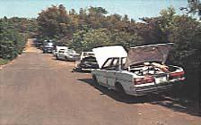 Imagen de la imagen del coche ilegalmente estacionado