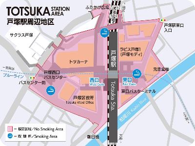 戶冢站周邊地區