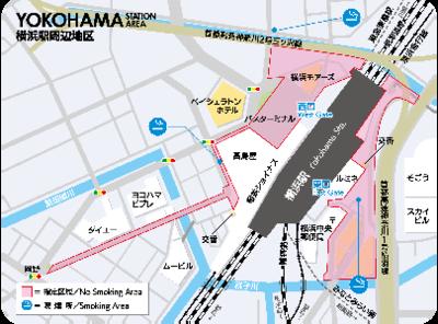 橫濱站周邊地區