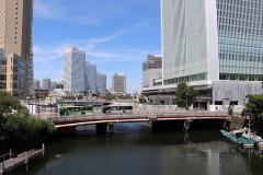 Image of Bentenbashi Bridge (now) appearing to great Okagawa