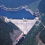 궁 카뢰호와 궁 카 여울 댐의 사진