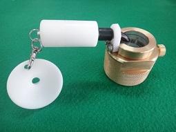 배수관으로부터의 급수관 분기 천공에서의 방수 코어의 장착 상황 확인 검사장치의 이미지