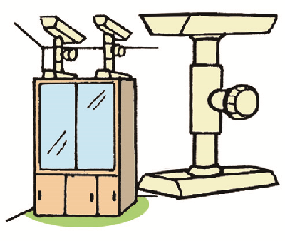Illustration of tension rods