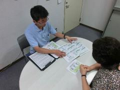 Consultation at a community care plaza