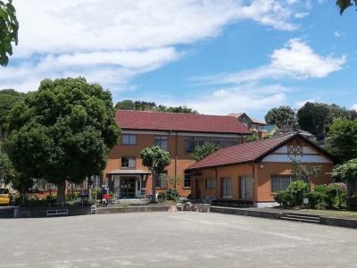 Photograph of the appearance of Yamashita area interchange center