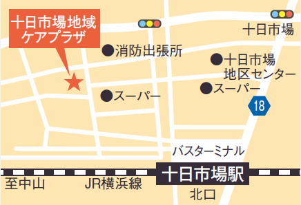 Tookaichiba, Yokohama-shi community care plaza map