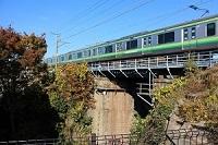 在照片點擊對橫濱線的岩川橋梁的說明