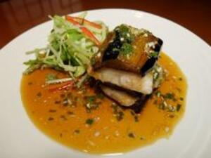 yu* sauce of eggplant and marlin