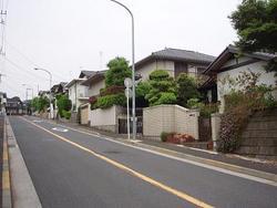 Imagen al mismo nivel como el pueblo de Gumyoji Hikarigaoka distrito dónde un acuerdo en construir las normas se une