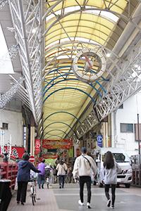 Arcade of Gumyoji mall