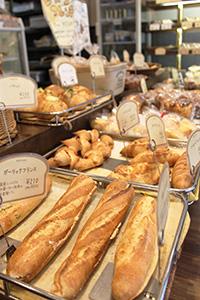 Appetizing bread of duke bakery