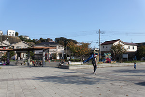 Ooka Park with open feeling
