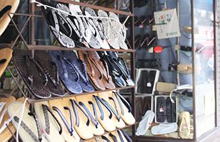 Footwear person