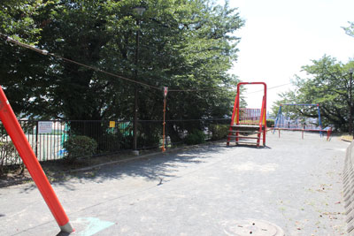 As for the playground equipment of child
