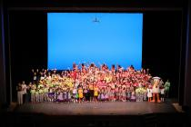 Curtain call scenery photograph