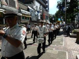 The prefectural police musical band