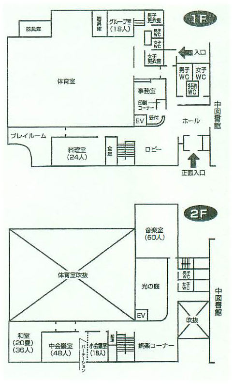 Map in hall