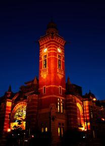 建港紀念會館(點燈)