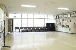 Fotografía del salón de la reunión