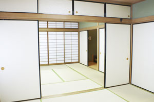 Photograph of Inaridai Elementary School community house Japanese-style room