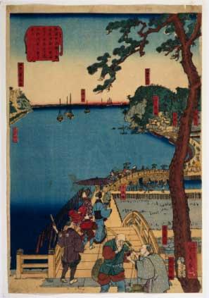 Yokohama ilustraron el mapa